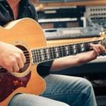 Man playing guitar — Stock Photo #12044705