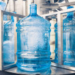 Stock Photo: Drink water production line