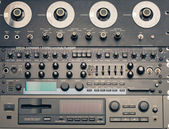 Professional vintage audio equipment — Stock Photo