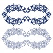 Antique retro pattern border — Imagen vectorial