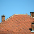 Stock Photo: Three chimneys