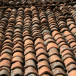 Turkish  roof tiles — Stock Photo