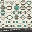 Set of 30 vintage premium and high quality labels — Stock Vector #11591396