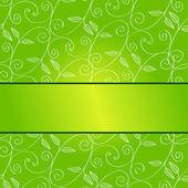 Beautiful spring background illustration — Vector de stock
