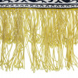 Stock Photo: Yellow fringe
