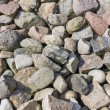 Granite stones background — Stock Photo