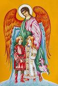 Guardian Angel for children — Stock Photo