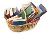 Old worn ragged books — Stock Photo