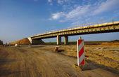 在波兹南建轨道公路 — 图库照片