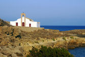 Pravoslavná církev v ostrově zakynthos — Stock fotografie
