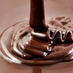 Постер, плакат: Hot pouring chocolate
