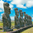 Stock Photo: Easter island