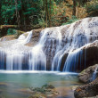 Thailand jungle waterfall — Stock Photo