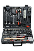 Toolbox with different instruments. isolated — Stock Photo