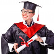 Happy young grad — Stock Photo