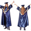 Collection - Happy Graduation Student. — Stock Photo