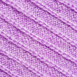 Violet knitted background — Stock Photo