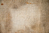 Texture old canvas fabric as background — Stock Photo