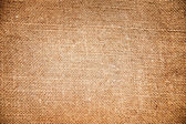 Texture of sack. Burlap background — Stock Photo