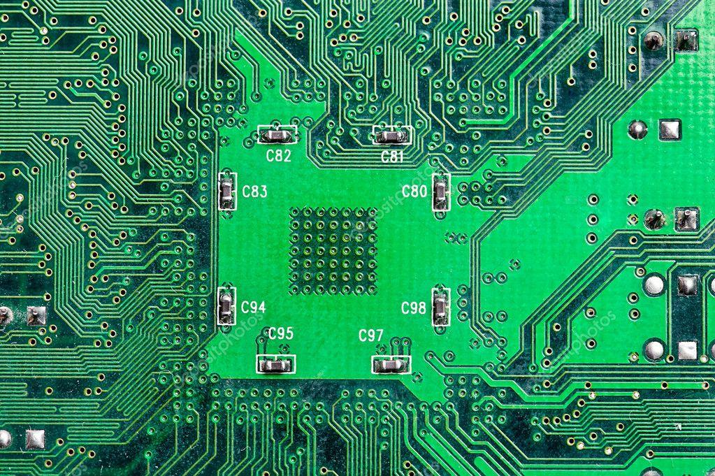 электронная схема компьютера.
