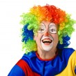 Royalty-Free Stock Photo: Funny clown