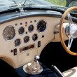 Classic Sports Car Dashboard — Stock Photo
