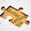 Dollar puzzle — Stock Photo #10749699