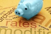 Rates concept — Stock Photo