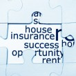 house insurance — Stock Photo