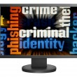 Web criminal — Foto Stock