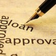 Loan approval — Stock Photo #11769737
