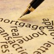 Mortgage concept — Stock Photo
