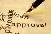 Loan approval — Stock Photo