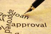 Loan approval — Stock Photo