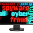 Stock Photo: Syber fraud