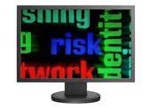 Web risk concept — Stock Photo