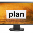 Royalty-Free Stock Photo: Plan concept