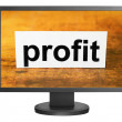 Stock Photo: Profit