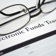 Electronic funds transfer — Stock Photo #12033605