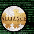 Alliance — Stock Photo