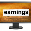 Earnings — Stockfoto