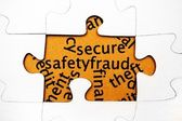 Secure safety fraud — Stock Photo