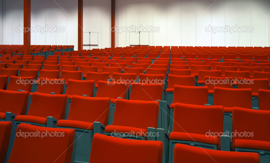 Empty hall of cinema  Stock Photo #11156042