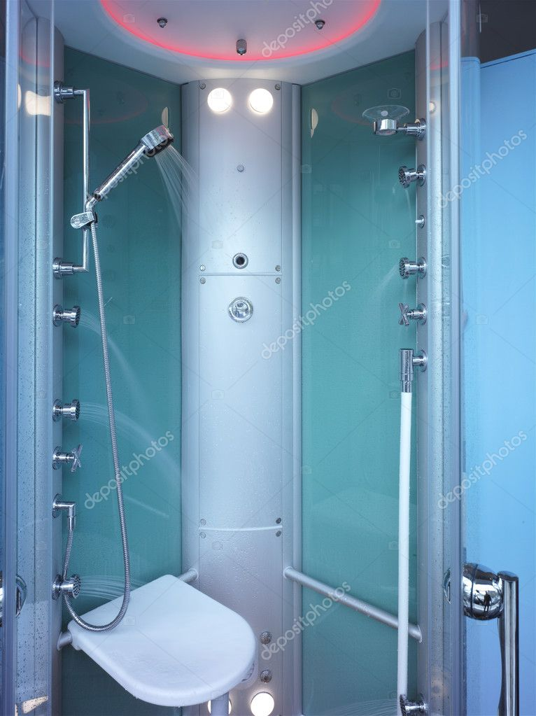 Modern shower  Stock Photo #11161506