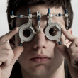 Optometrist in exam - 