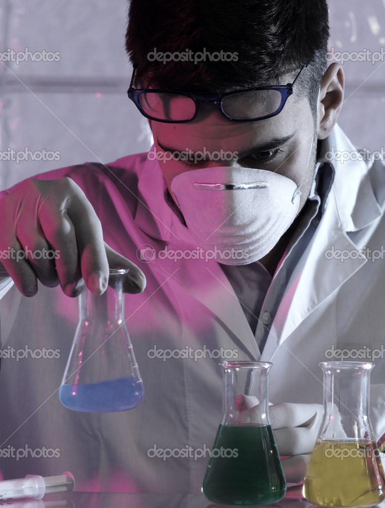 Researcher in the laboratory  — Stock Photo #11224229