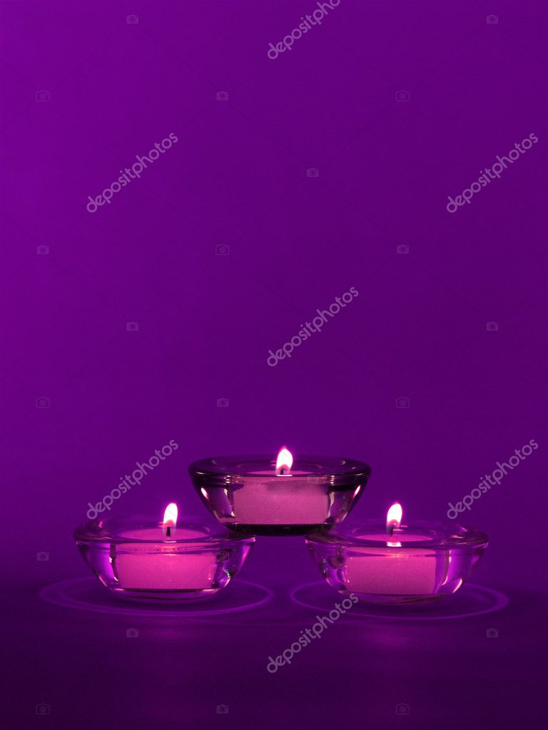Christmas candle — Stock Photo #11875488