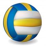 Постер, плакат: Volleyball ball