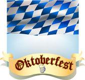 Oktoberfest banner — Stock Vector