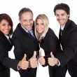 Happy business team celebrating a success — Stock Photo #10863095